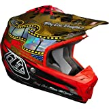 Troy Lee Designs Day In The Dirt SE3 Off-Road Motorcycle Helmet - Gold / Large