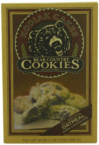 Kodiak Cakes Bear Country Oatmeal Dark Chocolate Cookie Mix, 18-Ounce Boxes (Pack of 6)