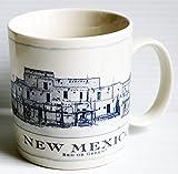 Starbucks Coffee White 18oz New Mexico Architectural Coffee Mug