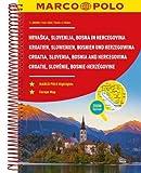 Croatia, Slovenia, Bosnia and Hercegovnia Marco Polo Road Atlas