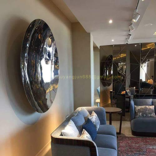 lsx Anish Kapoor 60cm Mirror Polished Stainless Steel Sculptured Stainless Steel Spherical Crown