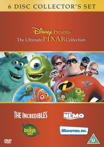 The Incredibles/Monsters, Inc./a Bug's Life/Finding Nemo [Import anglais] ()