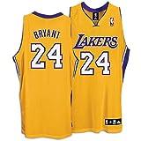 Kobe Bryant Lakers Adidas NBA Authentic Gold Jersey