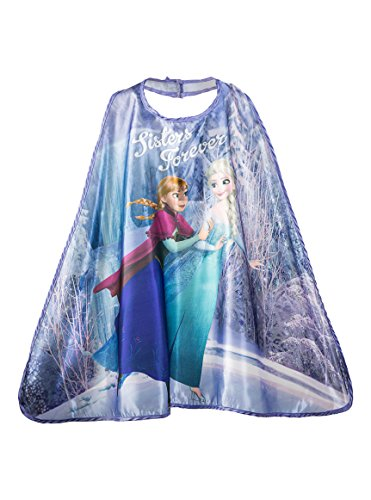 Halloween Costumes Ideas For 2 Friends (Official,, Pretend Play, Kids' Fantasy Halloween Costume, Boys/Girls Age 3-10, Authorized Kids Cape (FROZEN - Anna&Elsa))