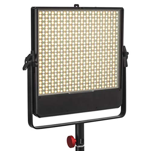 Luxli Timpani-1x1 RGBAW LED Light for Camera with Built-in 150 Digital Gels - Lightweight, Dimmable Video and Photography LED Panel Light - Adjustable from 2,800 to 10,000 K Color Temperature
