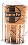 Broadway Limited HO Scale Operating Water Tower with Sound - Santa Fe/ATSF