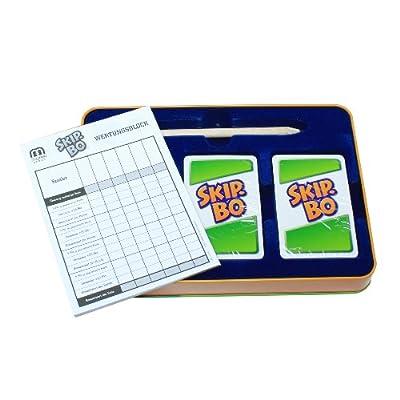 Mattel MTLL3671 Skip-Bo Deluxe Game: Toys & Games