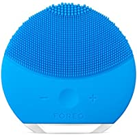 Foreo Luna Mini 2 Facial Cleansing Brush & Portable Skin Care device (Aquamarine)