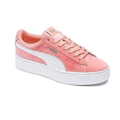 f10cba0e2d3c2e Puma Women s Vikky Stacked Sd Low-Top Sneakers  Amazon.co.uk  Shoes ...