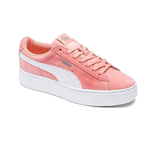 Puma Women s Vikky Stacked Sd Low-Top Sneakers  Amazon.co.uk  Shoes ... 739ec6080