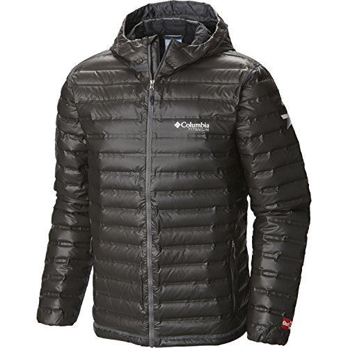 Power Jacket (Columbia Outdry Ex Gold Hooded Down Jacket X Large Black)