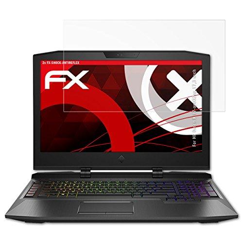 atFoliX HP Omen X 17-ap032ng 17,3 inch Anti Shock Screen Protector - 2 x...