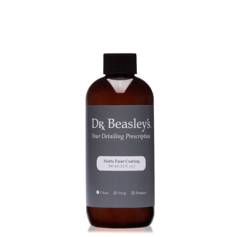 Dr. Beasley's Matte Paint Coating - 12 oz., Durable and Hydrophobic, Resists UV Fading, Readily Biodegradable by Dr. Beasley's