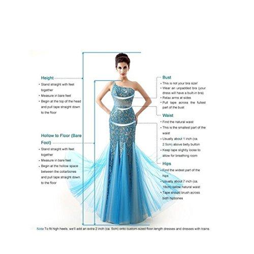 Sunweddingdress Women's Jewel Lace Applique Long Sleeve Chapel Wedding Dress by Sunweddingdress (Image #3)