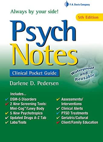 PsychNotes, Clinical Pocket Guide, 5th edition