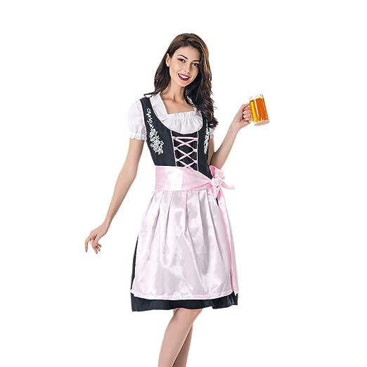 FENICAL Traje de sirvienta de Cerveza niña Vestido de Fiesta ...