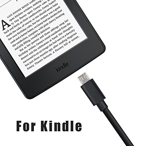"UL Listed Kindle Fire Tablet Fast Charger,2A AC Adapter Rapid Charger with Micro-USB Cable Compatible for Tablet Hd, Hdx 6"" 7"" 8.9"" 9.7"" Tablets and Phones, Tab Power Supply Cord"