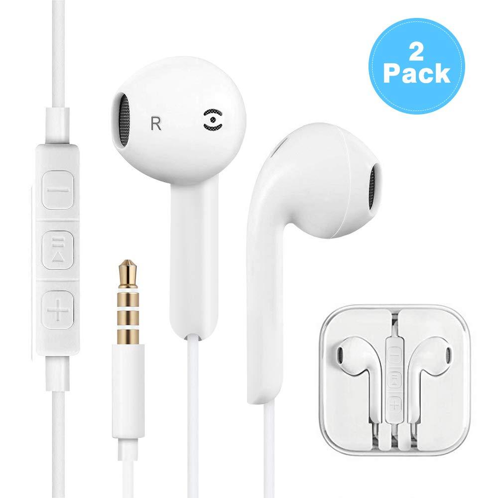 Auriculares in-Ear con micrófono, Auriculares Pomisty In-Ear Auriculares estéreo con Aislamiento de Ruido