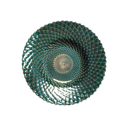 Zingz and Thingz Iridescent Small Decorative Plate