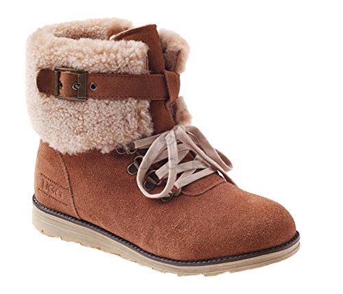 Warm up Ozwear Booties Paux Chestnut UGG Lace Boots Snow Vogue 6qxrwXqEA