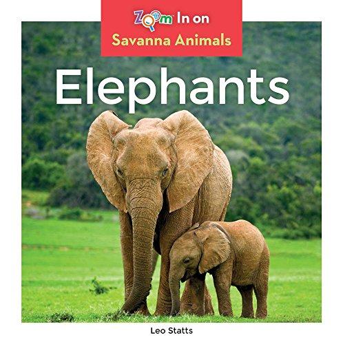(Elephants (Zoom In on Savanna Animals) )
