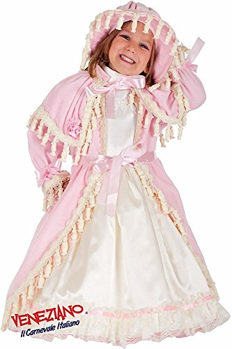 Italian Made Baby Toddler Girls Deluxe Bo Peep Nursery Rhymes World Book Day Week Fancy Dress Costume Outfit (0 Years) ()