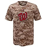 Washington Nationals Youth Camouflage T-shirt