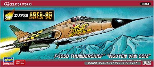 Hasegawa 64764 Area-88 F-105D Thunderchief Nguyen Van Com 1/72 scale kit