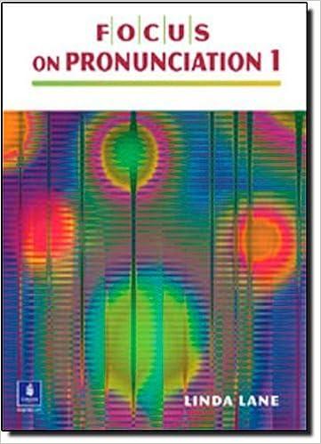 Focus on Pronunciation 1 (Book & CD) by Lane, Linda (2004)