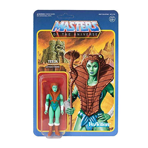 - Masters+of+the+Universe Super7 Teela Goddess Mini Comic Version