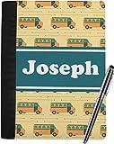 School Bus Notebook Padfolio (Personalized)