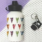 sugar hearts Water Bottle,Kids Drinks bottle, Bottle,School Lunch Bag Bottles,