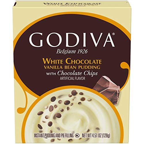 Godiva White Chocolate Vanilla Bean Pudding - 4.86oz, pack of 1 ()