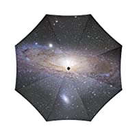Custom Space Galaxy Universe,Outer Space Nebulae Auto Foldable Umbrella 100% polyester pongee waterproof fabric