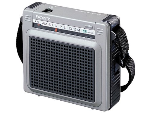 SONY AM portable radio cover wide ICR-S71
