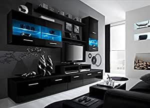 Amazon.com: Paris Contemporary Design 74.8x98.4x17.7-Inch ...