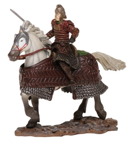 LOTR, King Theoden on Horseback, Warriors and Battle Beasts, Battle Scale Figure, Armies of Middle-earth