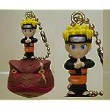 Naruto Keychain Figure with Bell Naruto Gama