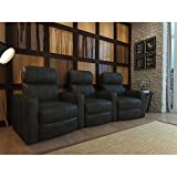 Octane Turbo XL700 Black Bonded Leather with Manual Recline