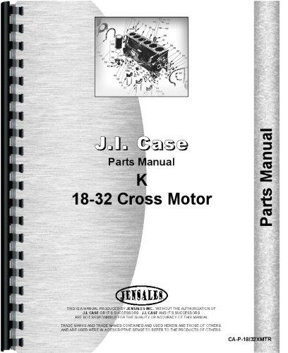 Download Case 18-32 Tractor Parts Manual pdf epub