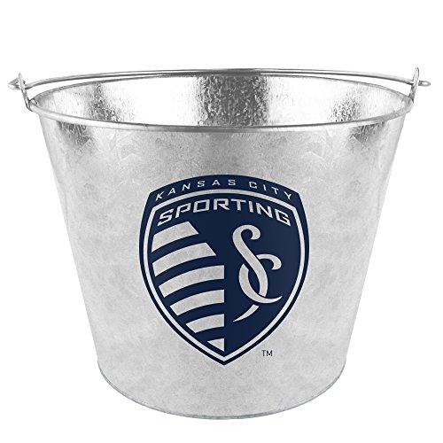 Boelter Brands MLS Sporting Kansas City Metal Bucket, 5 Quarts by Boelter Brands