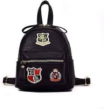 حقيبة ظهر للنساء ذات سعة كبيرة من الجلد المنسوج حقيبة الخصر