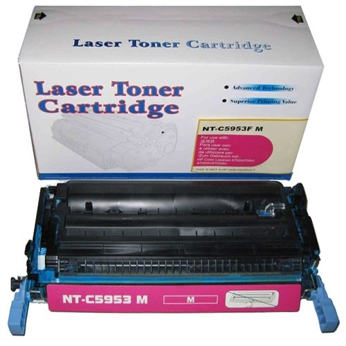 Remanufactured Replacement Laser Toner Cartridge for Hewlett Packard Q5953A (HP 643A) Magenta Photo #2
