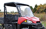 Polaris Ranger Midsize Full Windshield (2015+) - Clear Standard, NOT Scratch Resistant
