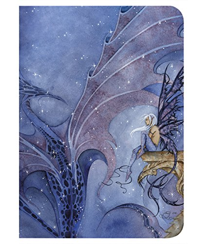 - Tree-Free Greetings Amy Brown Collection Journal, 160 Ruled Pages, 100% Recycled, 5.5 x 7.5 x 0.75 Inches, Dragon Dream Dragon and Fairy (JR86546)