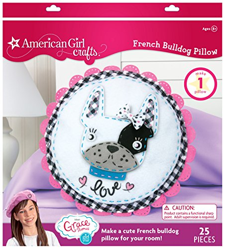 American Girl Crafts Girl of The Year 2015 French Bulldog Pillow