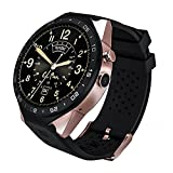 Le Pan Pro Smart Watch, 1.39' AMOLED Round HD Display Quad Core 2.0MP Camera Bluetooth GPS WiFi App Download Heart Rate Monitor MSG Notification Built-in Speaker Microphone USB Charging