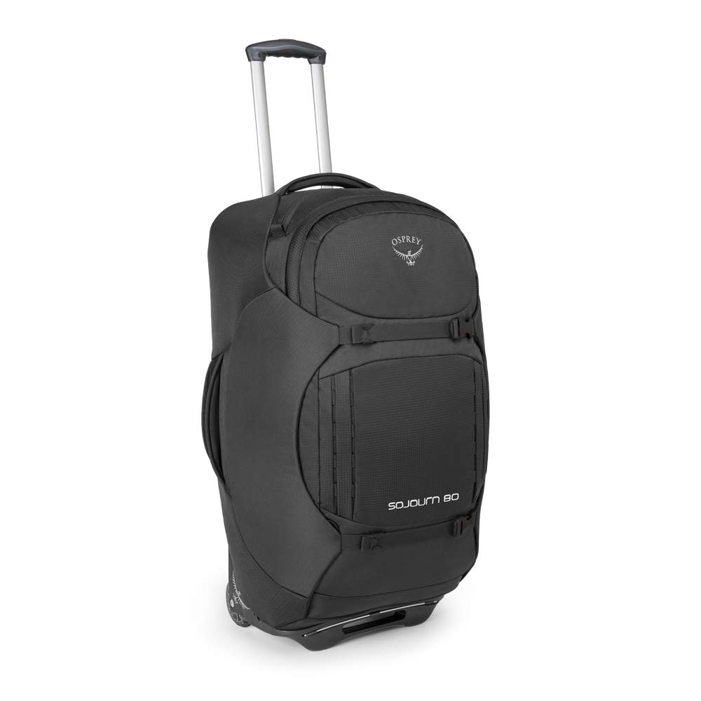 Osprey Sojourn 80 Unisex Convertible Wheeled Travel Pack - Flash Black  (O S)  Amazon.co.uk  Sports   Outdoors dd4a4e2ff5d95