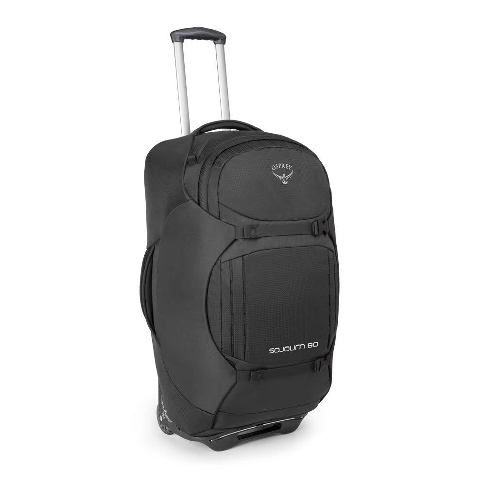 Osprey Packs Sojourn Wheeled Luggage, Flash Black, 80 L/28''