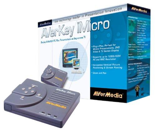 Amazon.com: AVermedia Key Micro (1280) PC/Mac to TV Scan Converter ...